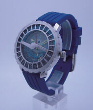 Astrolabe Watch: Astrolabium 24 hour GMT World Travel and date. Star Navigation