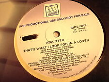 """ADA DYER-THAT'S WHAT I LOOK FOR IN A LOVER-MOTOWN L33-18473  NM/VG+ PROMO 12"""""""