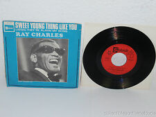 RAY CHARLES Sweet Young Thing Like You/ Listen There 45 Stateside FSS 619 France
