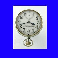 Rare WW1 Smiths Silver Goliath 8-Day Patent Watch 1919