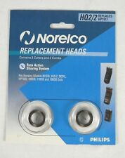 NORELCO HQ2/2 Replacement Shaver Heads 201DB 242LC 282XL HP1622 105DB 110DB