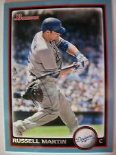 2010 BOWMAN BLUE RUSSELL MARTIN # 84  !,BOX # 31