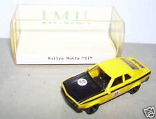 MICRO IMU HO 1/87 OPEL MANTA RALLYE RACING MOBIL BOX