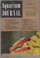 [34637] AQUARIUM JOURNAL MAGAZINE SEPTEMBER 1959 VOL. 30, No. 9