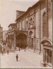 ASCOLI PICENO. Chiesa di S.Francesco.Due foto fine 1800