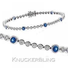 Tennis Sapphire Fine Bracelets