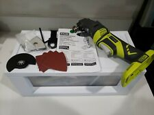 Ryobi JobPLUS ONE+ 18V Multi Tool P246 Console & P570 Attachment & Accessories
