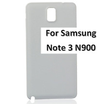 Replacement Back Door Battery Cover for Samsung Galaxy Note 3 SM-N900 White