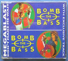 Bomb The Bass - Megablast / Don't Make Me Wait - UK CD Maxi Single - Good Cond.