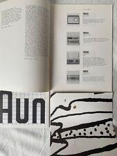 Dieter Rams, colección la última Edition Book + prendedor, Instant Nr. 22 ua.