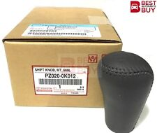 Genuine OEM Leather Grey Gear Shift Knob Toyota Hilux Vigo MK6 SR5 Fortuner M/T
