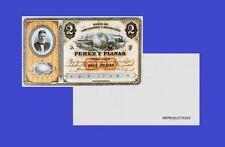 Panama 2 pesos 1868. UNC - Reproduction