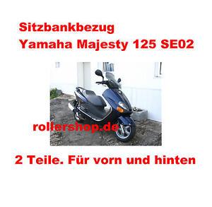 Sitzbank-Bezug für Yamaha Majesty 125  SE02 bis Bj.1998, 19 cm Stufe