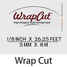 """""""WrapCut"""" - 8m, fil de coupe film vinyl, adhésif, covering, wrap, Filament Tape"""
