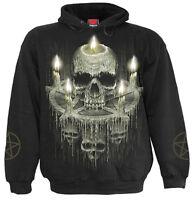 Spiral Direct WAXED SKULL - Hoodie Black Pentagram/Skull/Undead/Goth/Biker/Metal