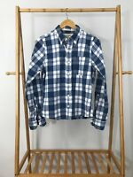 Abercrombie & Fitch Men's Plaid Muscle Fit Long Sleeve Button Down Size S