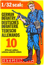 Atlantic German Infantry - set 2101 - mint-in-box - 60mm scale