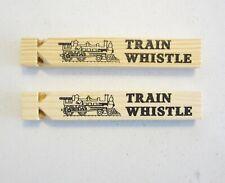 Wooden Train New Fashion Whistle Locomotive Sound Warning HI