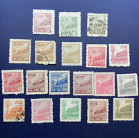 CHINA GATES OF HEAVENLY PEACE STAMP LOT HIGH DENOMINATIONS