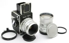 Kowa Six Mittelformat Analog Kamera, Lens 2,8 / 85 mm + Tele 3,5 / 150 mm s92