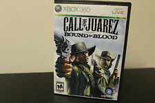 Call of Juarez: Bound in Blood  (Xbox 360, 2009) *Tested