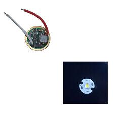 Single Mode 3V-18V Flashlight Driver Circuit Board + 16MM Cree XM-L2 U2 U3 LED