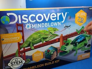 Discovery Mindblown Robot Chameleon Build Kit New in Box 82 Pieces