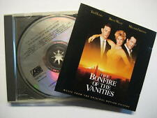 BONFIRE OF THE VANITIES - CD - O.S.T. - SOUNDTRACK - MUSIC BY DAVE GRUSIN