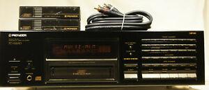 Vintage Pioneer PD-M650 6 Disc CD Changer bundle w/ 2 magazines & cable