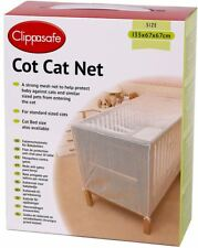 Clippasafe Child COT CAT NET Mesh Cover Child Kids Home Safety Baby Proofing BN