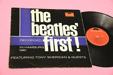 BEATLES LP FIRST HAMBURG 1971 EX++ !!! TOP RARE 1° ST GERMANY  MONO !!!!!!!!