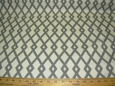 "~18 6/8 YDS~ROBERT ALLEN~""LATTICE"" GEOMETRIC~COTTON UPHOLSTERY FABRIC FOR LESS~"