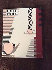 "8x10  Art deco print ""Cafe Noir"" by Lepas"