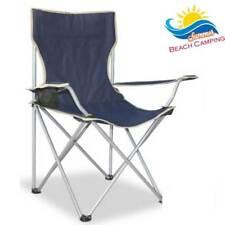 Sedia Pieghevole da Campeggio Camping Regista Apertura ad Ombrello Colore BLU