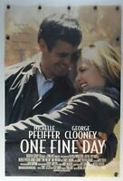 """One Fine Day 1996 Double sided Original Movie Poster 27"""" x 40"""""""