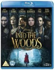 INTO THE WOODS - BLU RAY - NEW / SEALED - UK STOCK