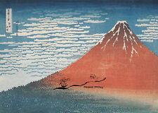 Tarjeta de arte: Hokusai-fujiyama