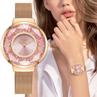 Luxury Women Watch Ladies Stainless Steel Band Analog Bracelet Wrist Watches CX