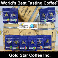 World's Best Coffees (10 lb total) 5 Jamaica Blue Mountain 5 JBM PeaBerry - PURE