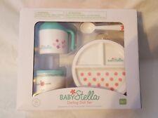 Baby Stella Darling Dish Set by Manhattan Toy - NIB