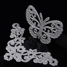 Butterfly&Flower Dies Metal Cutting Stencil For Scrapbooking Paper Cards Decor
