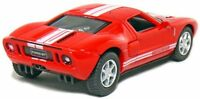"Kinsmart 5"" 2006 Ford GT Diecast Model Toy Car 1:36 New - Red"