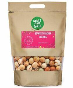 Seaweed Cracker Peanuts   GMO Free   Vegan   Dairy Free