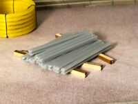 3D PRINTED CONCRETE FENCE POSTS OO GAUGE 1:76 SCALE FOR MODEL RAILWAY AX047-OO