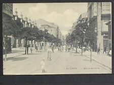 2497.-LA CORUÑA -Calle de San Andrés (Librería de Lino Pérez)
