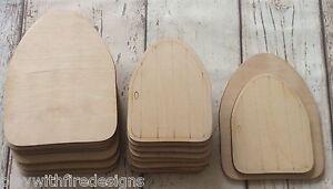 set of 10 laser cut wooden opening gothic fairy faerie elf doors D8