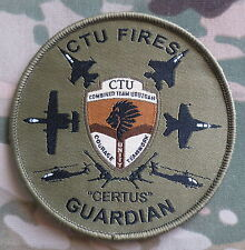 Combined Team Uruzgan (CTU) Fires 'Certus' Guardian Patch / Afghanistan