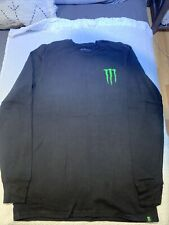 Monster Energy Athlete Waffle Knit Long Sleeve T