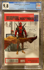 Deadpool: Merc With A Mouth #9 CGC 9.8 The Graduate Movie Poster Homage Cover