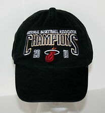 Adidas Miami Heat 2013 NBA Champions Basketball Team Baseball Cap Hat New OSFA
